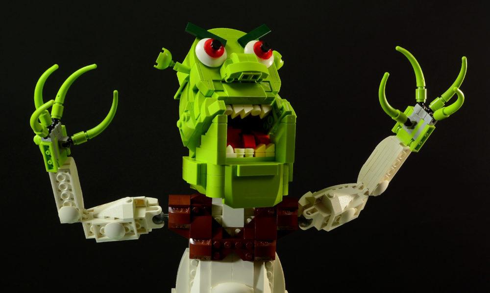 LEGO Demon Shrek Puppet MOC