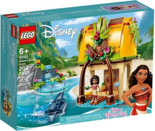 LEGO Disney 43183 Moana's Island Home