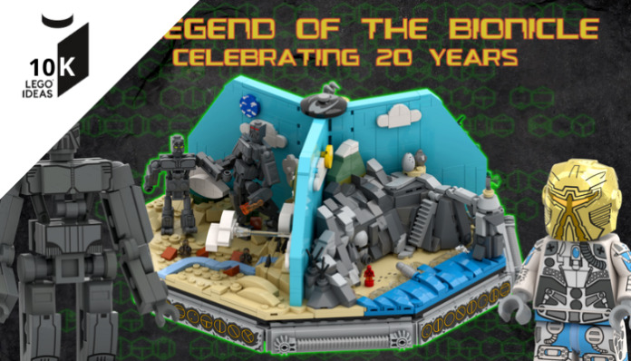 LEGO Ideas Legend of the Bionicle