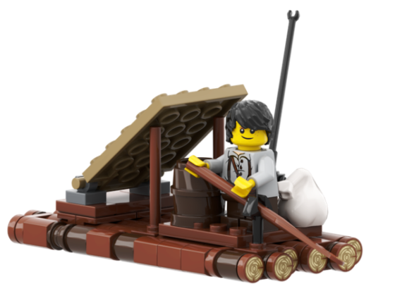 LEGO Ideas Mississippi Adventures