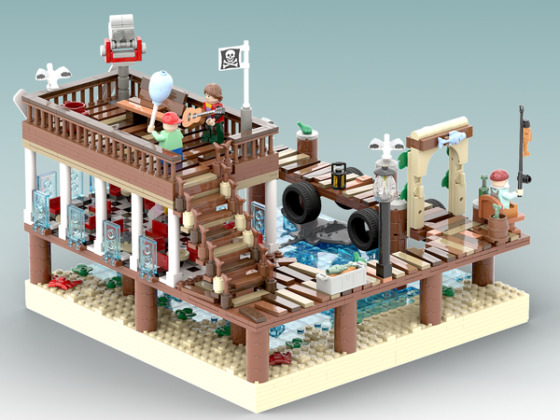 LEGO Ideas The Dock Restaurant