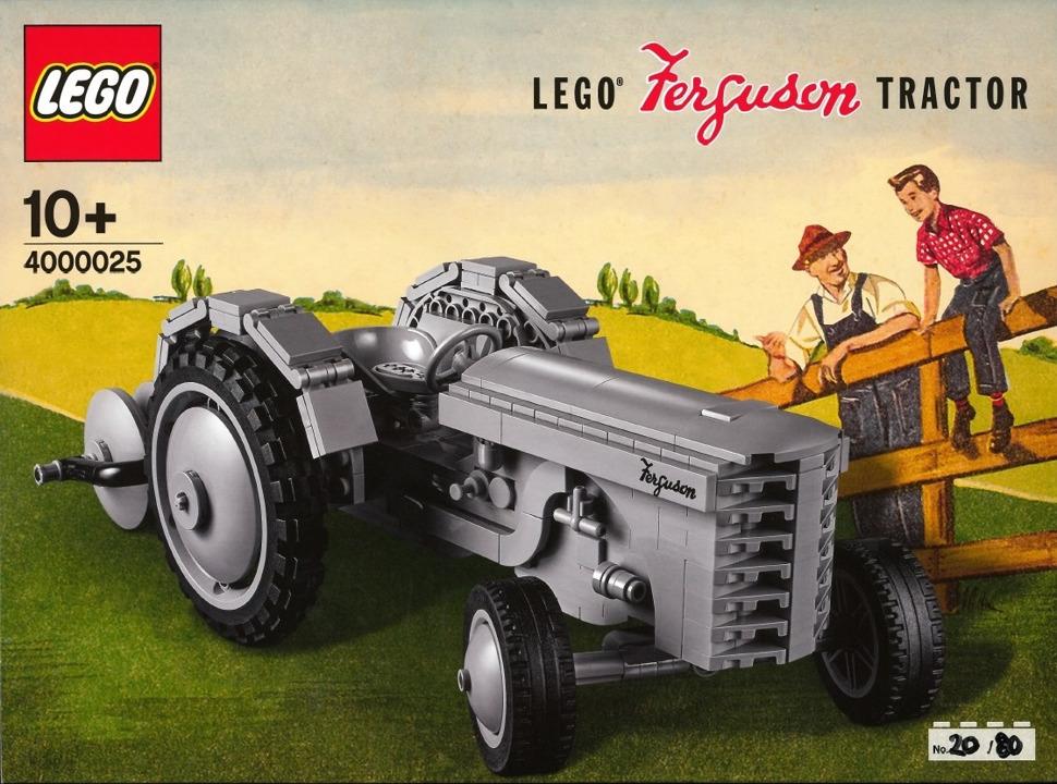 LEGO Inside Tour 4000025 Gurguson Tractor