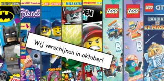 LEGO Magazines en boeken oktober 2019