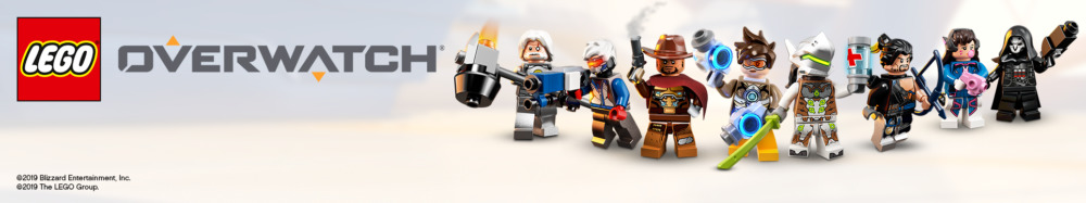 LEGO Overwatch Banner