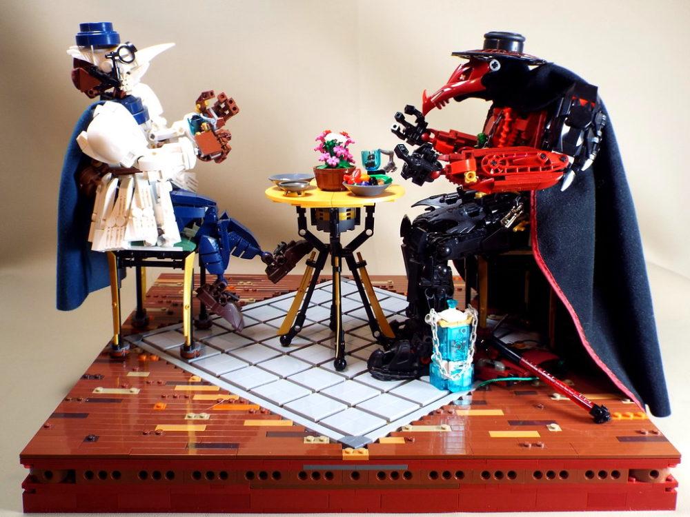 LEGO Plague Docters MOC