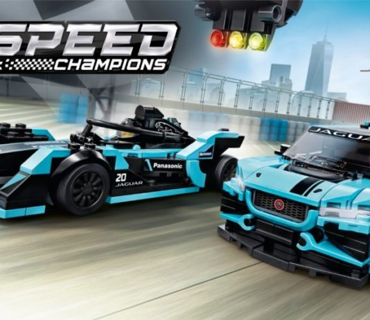 LEGO Speed Champions 76898 Formula E Panasonic Jaguar Racing GEN 2 car & Jaguar I-PACE eTROPHY