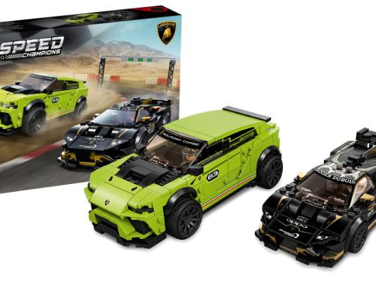 LEGO Speed Champions 76899 Lamborghini Huracán Super Trofeo EVO & Urus ST-X