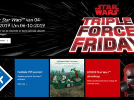 [Promoties] LEGO Triple Force Friday