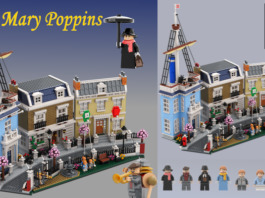 LEGO Ideas Mary Poppins