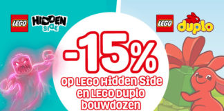 Korting op LEGO Hidden Side en Duplo