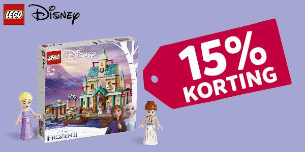 15% korting LEGO Disney