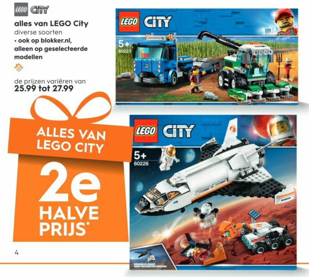 2e LEGO halve prijs Blokker