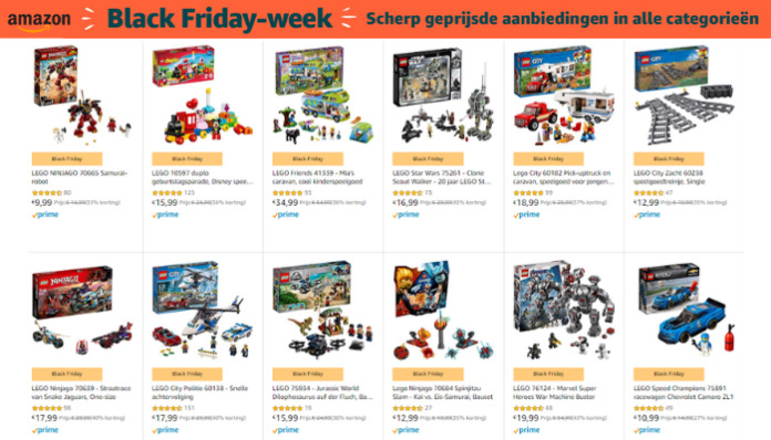 Amazon Black Friday LEGO deals