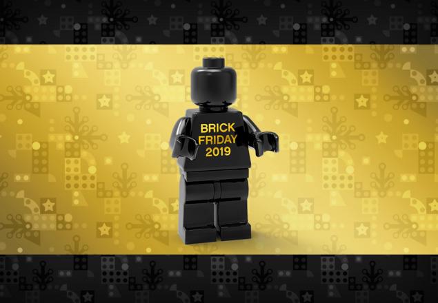 Gratis LEGO Black Friday Minifigure