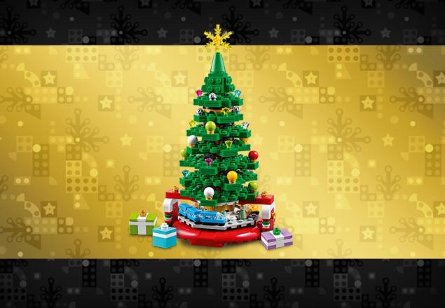 Gratis LEGO Christmas Tree