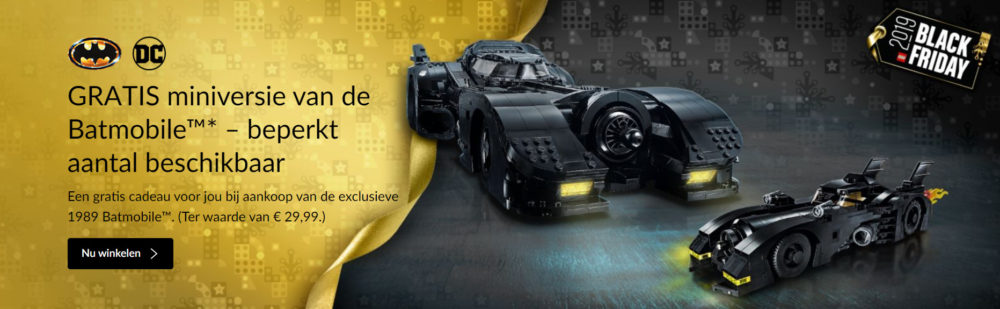 LEGO Batmobile promo