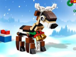 Gratis LEGO Creator 40434 Reindeer