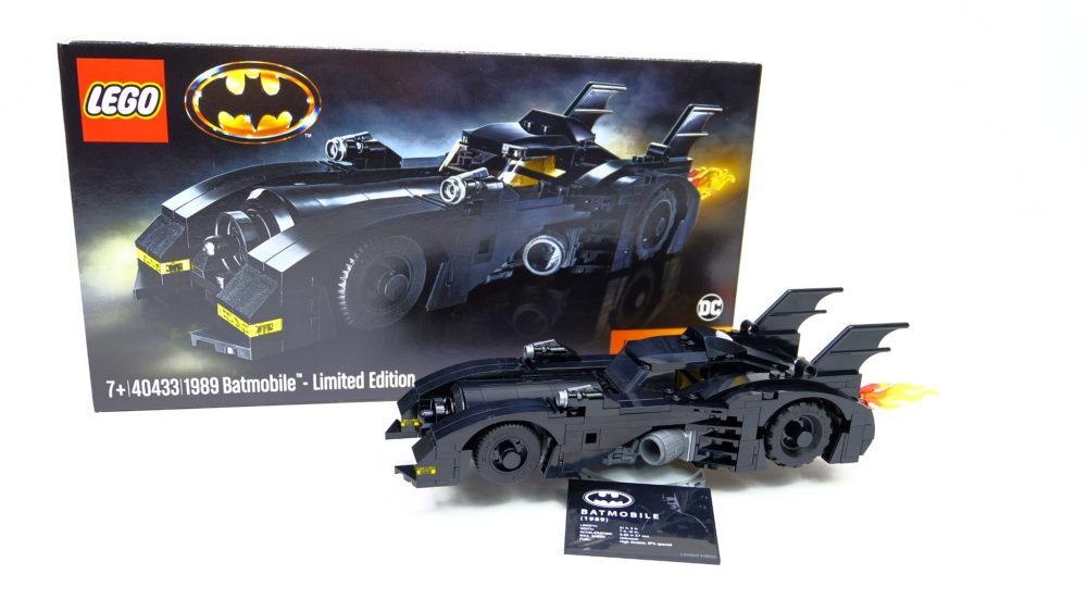 LEGO 40433 1989 Batmobile
