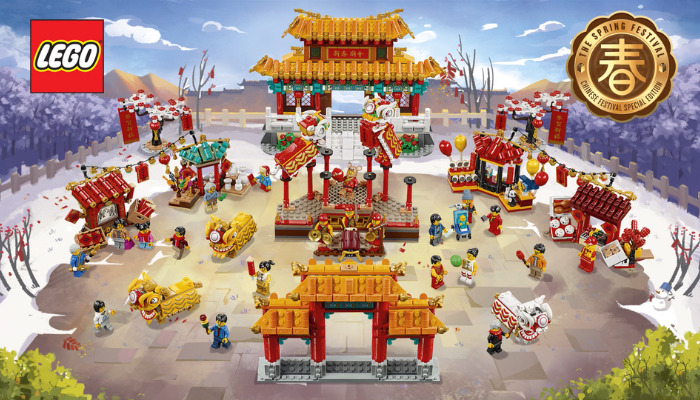 LEGO 80104 en LEGO 80105
