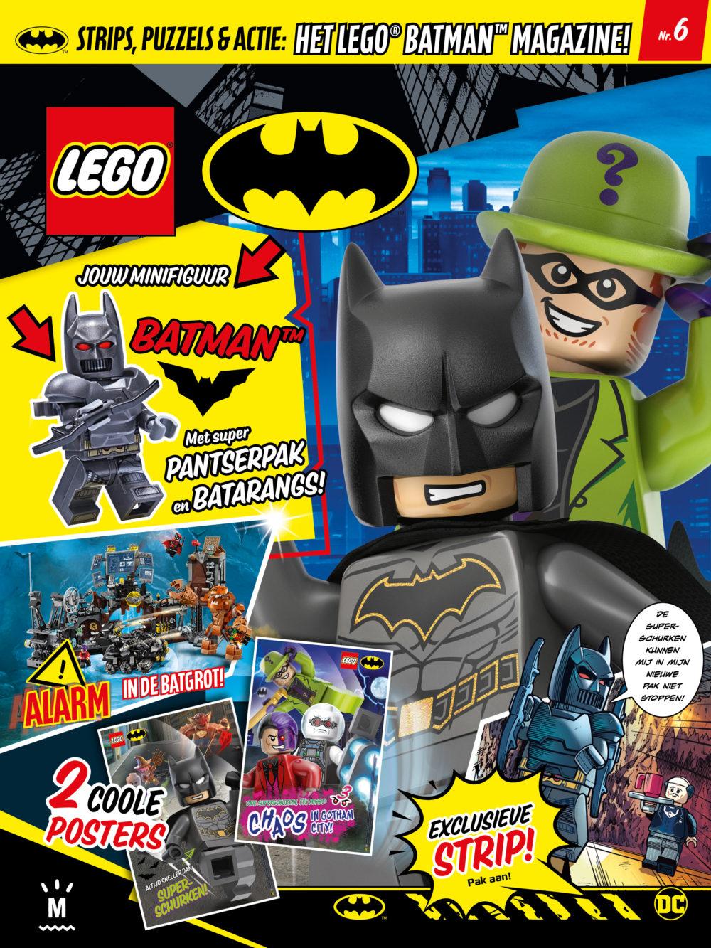 LEGO Batman Magazine 6 2019