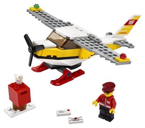 LEGO City 60250 Post Airplane