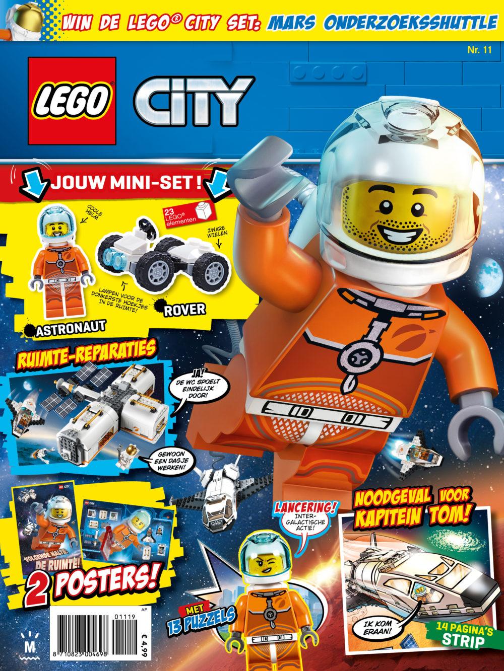 LEGO City magazine 11 2019