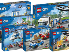 LEGO City winter 2020 sets