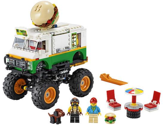 LEGO Creator 31104 Burger Monster Truck