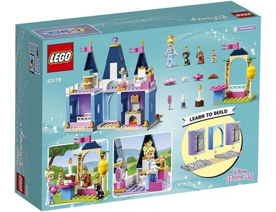 LEGO Disney 43178 Cinderella's Castle Festival