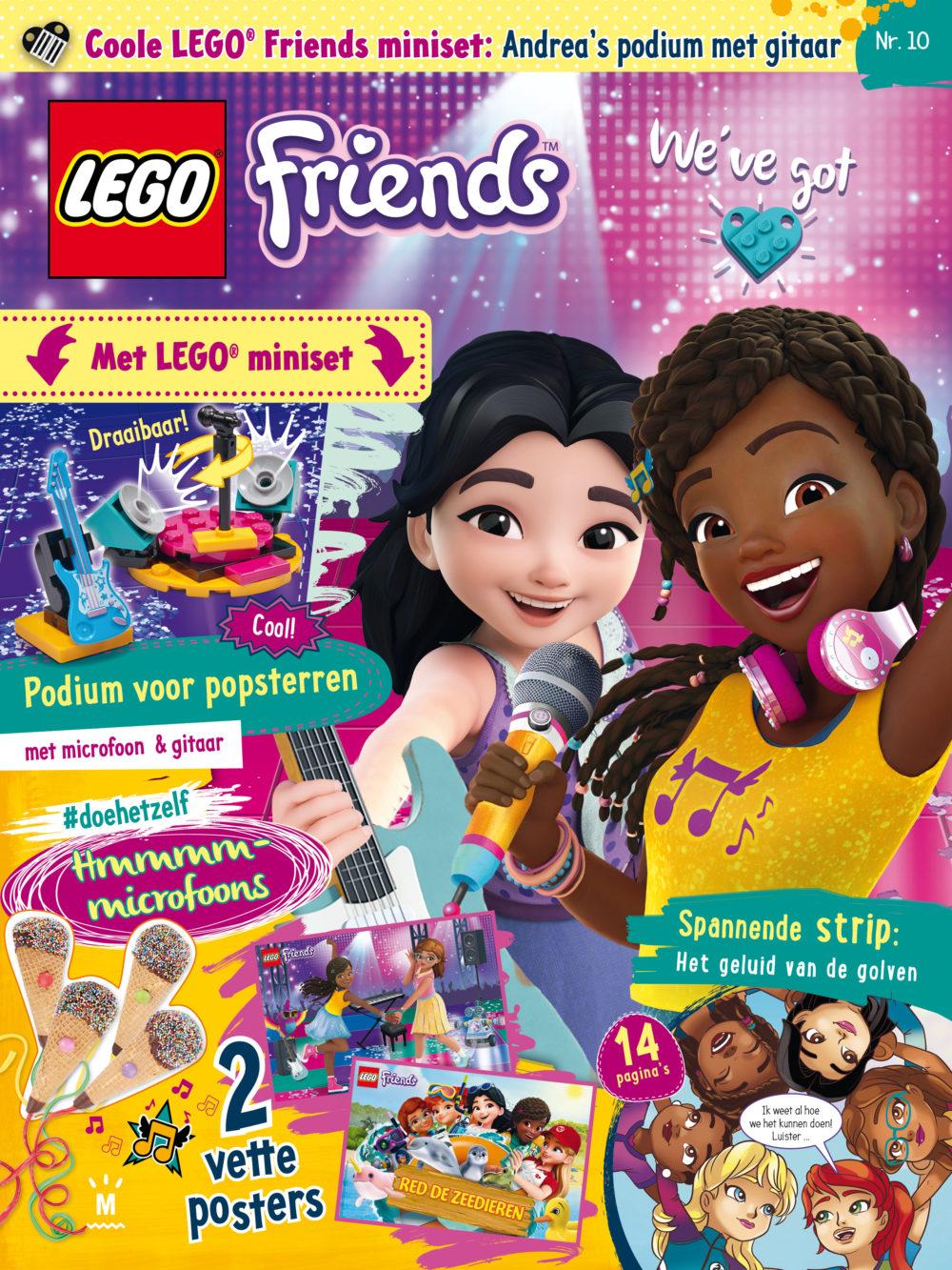 LEGO FRIENDS magazine 10 2019