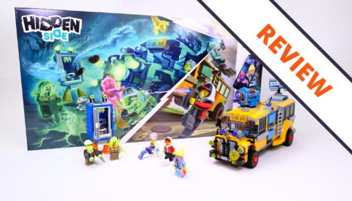 LEGO Hidden Side 70423 Paranormal Intercept Bus 3000