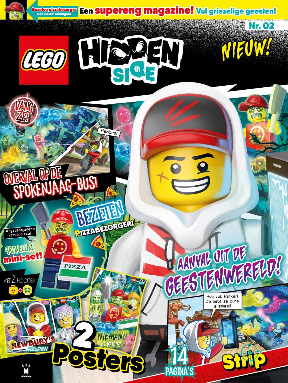 LEGO Hidden Side Magazine 2 2019