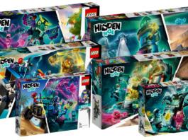 LEGO Hidden Side sets 2020