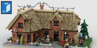 LEGO Ideas Thatched Restaurant