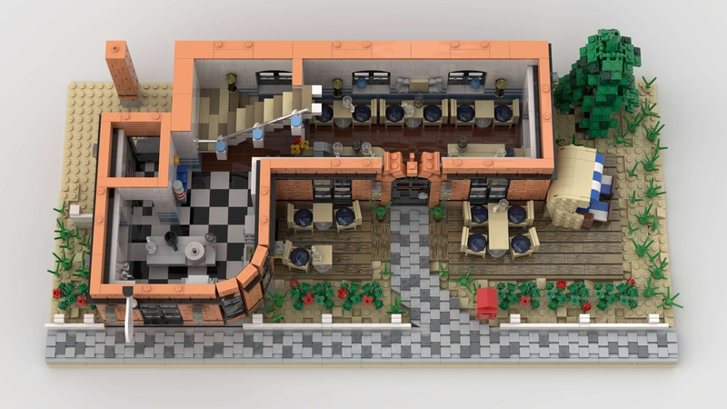 LEGO Ideas Thatched Restaurant