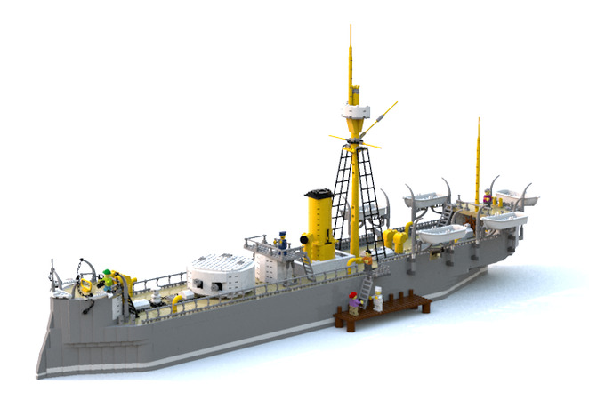 LEGO Ideas The Huascar