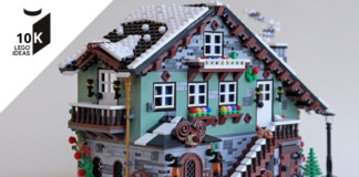 LEGO Ideas Winter Chalet