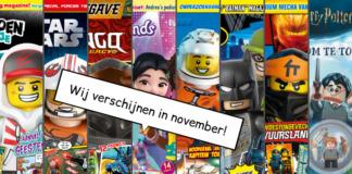 LEGO Magazines en boeken november 2019