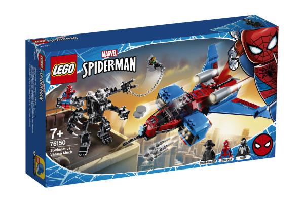 LEGO Marvel 76150 Spider Jet vs Venom Mech