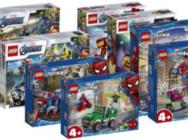LEGO Marvel winter 2020 sets