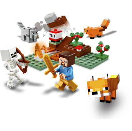LEGO Minecraft 21161 The Taiga Adventure