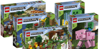 LEGO Minecraft winter 2020 sets