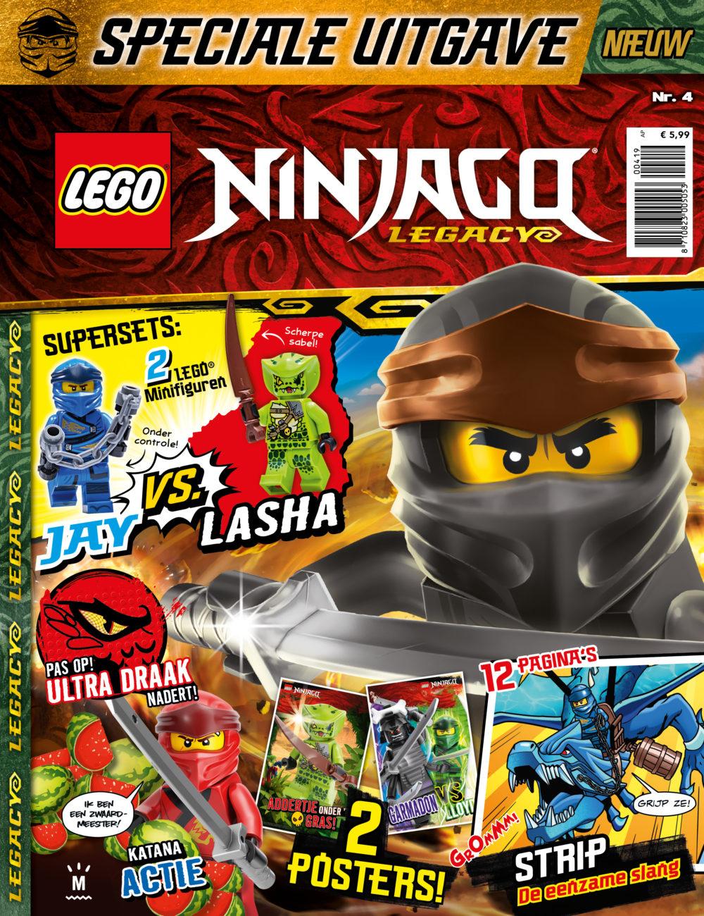 LEGO NINJAGO Legacy 4 2019