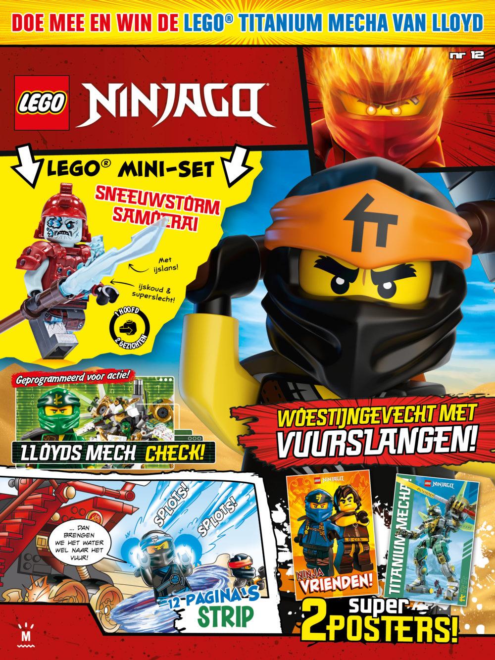LEGO NINJAGO Magazine 12 2019