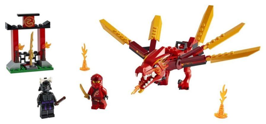 LEGO Ninjago 71701 Kai's Fire Dragon