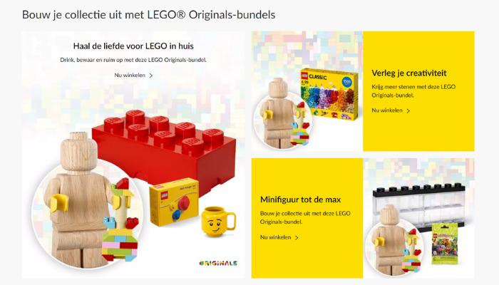 LEGO Originals 853967 LEGO Wooden Minifigure bundels