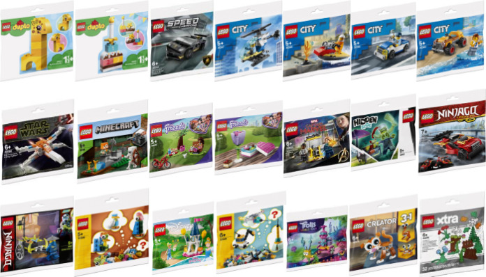 LEGO Polybags winter 2020