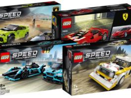 LEGO Speed Champions winter 2020 sets