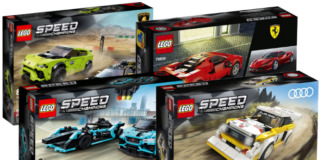 LEGO Speed Champions winter 2020 sets