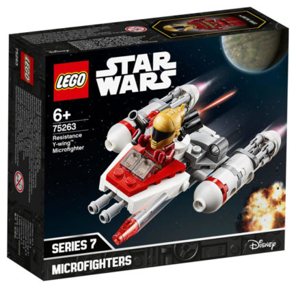 LEGO Star Wars 75263 Y-Wing Microfighter